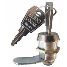 Hebelschloss,Spindschloss ,Möbelschloss Briefkastenschloss Euro-Locks 20mm!