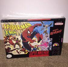 Spider-Man X-Men: Arcade's Revenge NEW SEALED! H-LAP Super Nintendo (1992) SNES