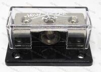 1/0 ga input (2) 4 ga Output  Distribution Block Car Audio Distro SHCA-DB-1024S