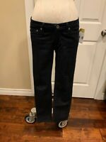 "AG Adriano Goldschmied ""The Stilt"" Dark Wash Low Rise Skinny Jeans, Size 27"