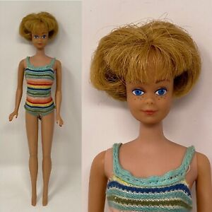 Vintage Barbie BEND LEG MIDGE DOLL 1958 Color Magic American Girl Body Original