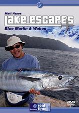 MATT HAYES LAKE ESCAPES - BLUE MARLIN & GRANDE WAHOO - DVD - REGION 2 UK