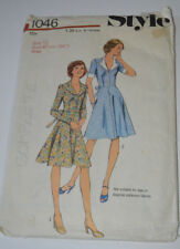 sewing pattern dress with a line skirt size 12