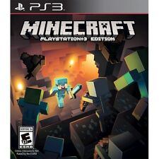 Minecraft Sony Playstation 3 Video Games Ebay