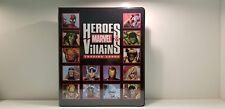 Marvel Heroes & Villains Trading Card Binder Album 1 color sketch card