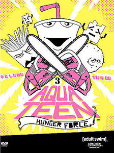 Aqua Teen Hunger Force--Volume Three--DVD--EXCELLENT CONDITION