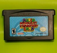 Mario Pinball Land (Nintendo Game Boy Advance, 2004) **Tested GBA Cartridge