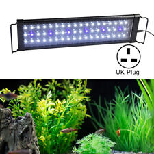 45CM LED Aquarium Light Blue White Lighting Fish Tank Plant Marine Bar Lamp UK