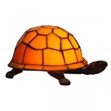 Lampe Schildkröte Design orange Jugendstil