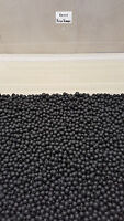 6mm Black Soft Rubber Shock Impact Beads.Carp,Cat Fish Rigs etc + Free Gift.