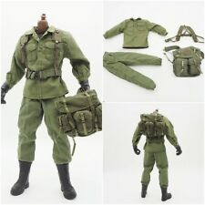 """1/6 Scale Backpack Jacket Pants Belt Military Accessories For 12"""" Action Figure"""