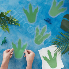 Dinosaur Footprints Wall Stickers Decal Kids Childrens Room Decor Birthday Party