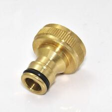 Tube Hosepipe Water Hose Threaded Gardening Brass Quick Connector Adaptor Tap