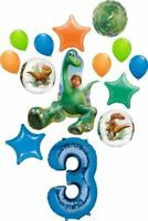 The Good Dinosaur Party Supplies Arlo and Spots 3rd Birthday 14 pc Balloon Bo...