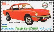 1973 triumph spitfire mk. iv voiture automobile timbre