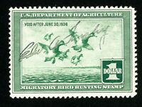 US Stamps # RW4 XF Used Choice Fresh Scott Value $85.00
