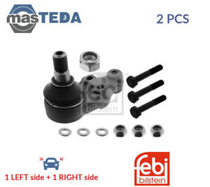 2x FEBI BILSTEIN LOWER FRONT SUSPENSION BALL JOINT PAIR 10162 P NEW