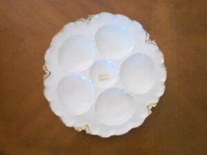Haviland Limoges Oyster plate, Sch 427
