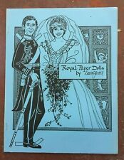 """Charles and Diana """"Royal Paper Dolls"""" by Dawn Jarvis, 1981"""
