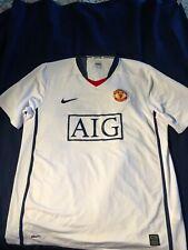 "Nike Manchester United #7 Ronaldo Away Jersey size ""L"""