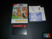 JUEGO SEGA MASTER SYSTEM  THE LUCKY DIME CAPER STARRING DONALD DUCK