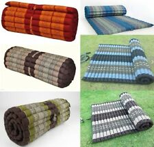 "21Thai Roll up Mattress Cushion Camping Day Bed kapok100% 79""x30""x2"" Massage Mat"