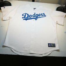 LOS ANGELES DODGERS MLB BASEBALL MAJESTIC JERSEY Sz Mens XXL