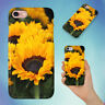 YELLOW SUNFLOWERS HARD BACK CASE FOR APPLE IPHONE PHONE