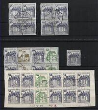 Berlin 532 I mit Plattenfehlern III, VII, X, XI + XII gest. Einheiten! (B05636)