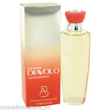 DIAVOLO 100ml EAU DE TOILETTE SPRAY FOR WOMEN BY ANTONIA BANDERAS -- EDT PERFUME