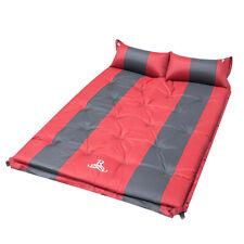 Double Sleeping Mattress Self Inflating Mats Camping Hiking Air Bed Joinable Pad