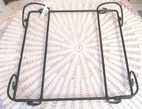 Longaberger Black Wrought Iron Basket Holder 2010 New With Tag