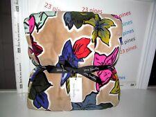 Vera Bradley Throw Falling Flowers Plush Lightweight Microfleece Nwt