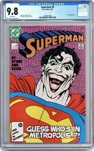 Superman #9 CGC 9.8 1987 3844837006