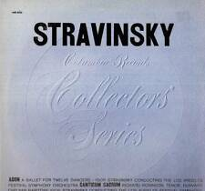CLASSICAL LP STRAVINSKY CONDUCTING LOS ANGELES SYMPHONY ORCHESTRA