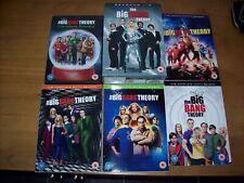 BIG BANG THEORY SERIES 1 2 3 4 5 6 7 9 + CHRISTMAS EPISODES DVD's