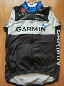 Garmin Cervélo Team Thermal Vest Size: L NEW! RARE!