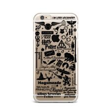 Harry Potter Hogwarts Design Silicone Rubber  Case For IPhone 11 XR XS Max 7 8 +
