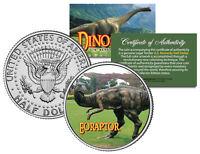 EORAPTOR ** Collectible Dinosaur ** JFK Kennedy Half Dollar U.S. Colorized Coin