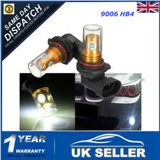 2x HB4 9006 Bulb 25W LED Projector Daytime Fog Light DRL For BMW E36 E46 E60