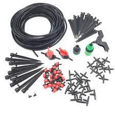 108pcs Set 20m 4/7mm TUBO MICRO sgocciolio Sistema di Irrigazione Auto pianta