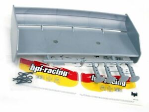 1/5 Scale Petrol Buggy Spoiler HPI 85453 WING SET SILVER BAJA 5B Fit Aowei Yama