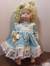 "Marie Osmond doll Savannah Coa 9"" tall Item C7593 Miracle Children"