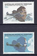 1979 AAT SOUTH POLE FLIGHT 50th ANNIVERSARY SET OF 2 STAMPS FINE MINT MNH/MUH