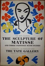 Henri Matisse Affiche Lithographie 1953 art abstrait Tate Gallery Londres