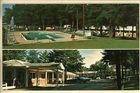 CORNELIA GA SKYLAND MOTEL 1976  POOL OLD CARS  POSTCARD