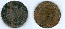 Module de   5 Francs  Le Duc de Berry visite la monnaie deParis  le 18/11/1817