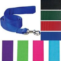 Nylon Pet Dog Puppy Lead Leash 4 ft and 6 ft/ 8 colors