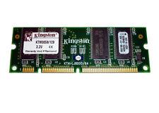 Kingston 128 MB - DIMM 100-pin - SDRAM- KTM0059/128