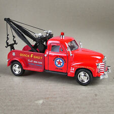 Red Diecast 1953 Chevrolet  3100 Wrecker  Tow Truck 1:38 Scale Model Car Unboxed